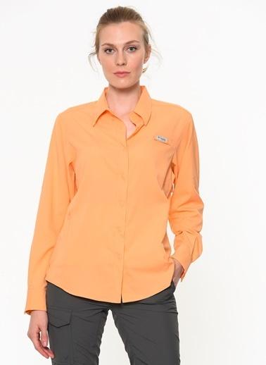 Columbia Uzun Kollu Gömlek Oranj